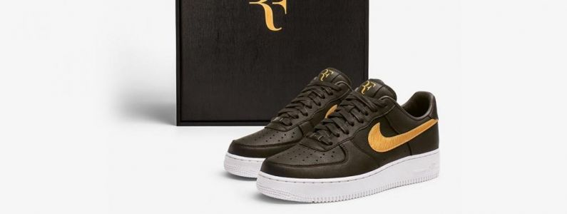Roger Federer:  Nike lui rend hommage avec une Air Force 1 Low 07!