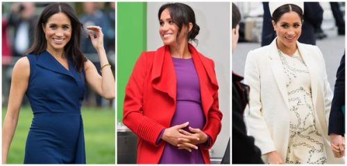 Photos : les looks de grossesse de Meghan Markle