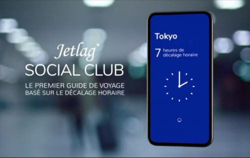 Jetlag Social Club, l'appli Flying Blue pour s'accommoder du décalage horaire