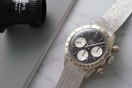Rolex Daytona Ultimatum par Phillips auction, des records en perspective