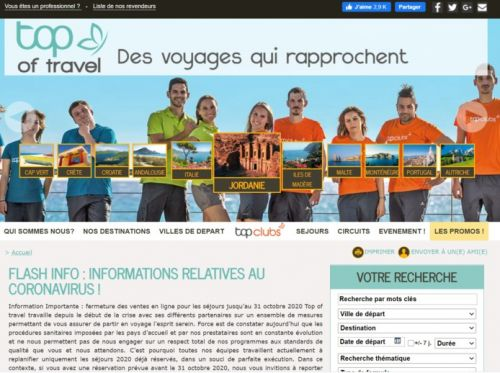 Top of travel lance un outil de package dynamique