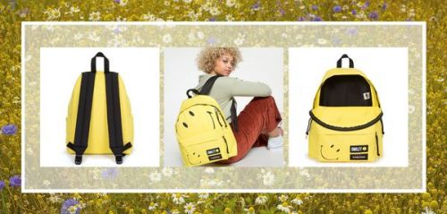 Crush : on veut un sac à dos Eastpak x Smiley 100 % vegan