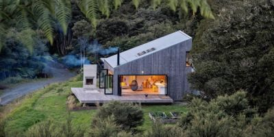 ARCHITECTURE:  David Maurice et sa Back Country House