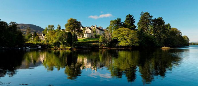 Irlande - Bain de nature au Sheen Falls Lodge
