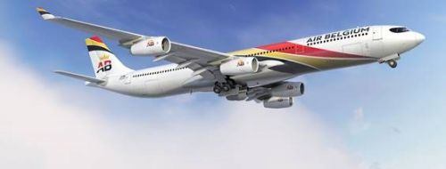 Air Belgium se pose en Martinique