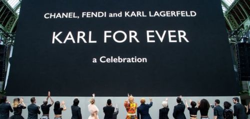 """Karl For Ever"": Retour en images sur l'hommage à Karl Lagerfeld"