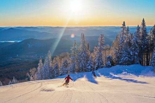 Ski season is open at Tremblant