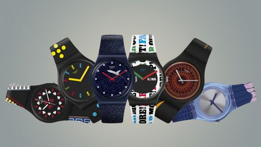 Swatch X 007:  no time to have style