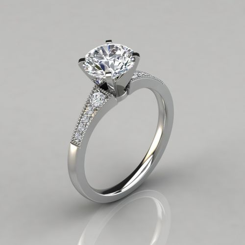 Round-Cut Engagement Ring: Is This The Best Ring For Me?