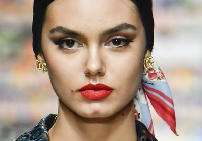 Fashion Week de Milan:  reproduisez le make-up Dolce & Gabbana