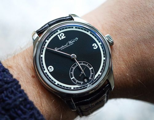 HANDS-ON: IWC PORTUGIESER HAND-WOUND EIGHT DAYS 75TH ANNIVERSARY