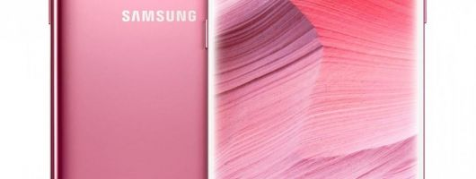 Samsung Galaxy S8:  La version rose arrive en Amérique du Nord