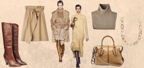 "Shopping : 10 pièces pour une silhouette ""toffee cream"""