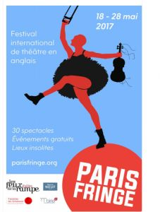 Paris Fringe:  le 1er Festival International de Théâtre en anglais à Paris