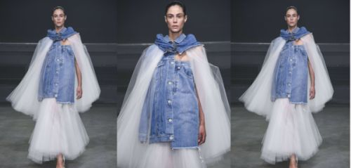 Fashion Week: on veut la veste en jean déstructurée d'Unravel