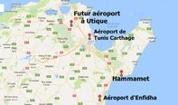 L'aéroport de Tunis-Carthage va déménager