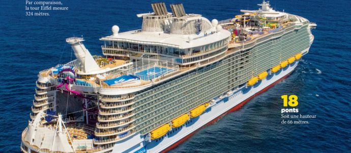 « Symphony of the Seas »:  voyage sur le plus grand paquebot du monde