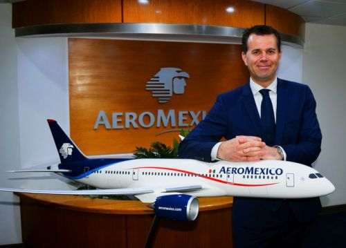 Interview:  Paul Verhagen, Vice-président en charge du marché international, Aeroméxico