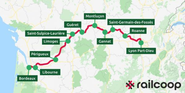 Train:  Railcoop veut lancer un Toulouse-Rennes sans passer par Paris en 2023