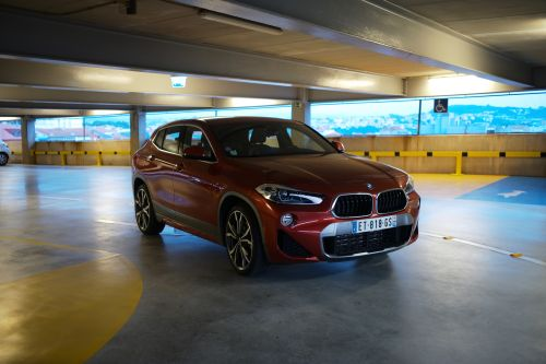Mission Parking en BMW X2