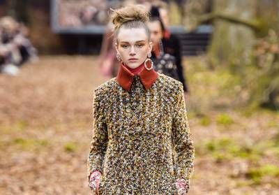 Fashion Week de Paris:  la forêt enchantée de Chanel