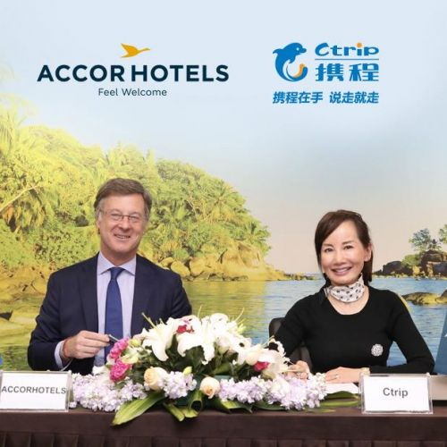 Chine:  Ctrip et AccorHotels signent un protocole d'accord