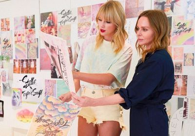 ElleFashionCrush:  Taylor Swift et Stella McCartney dévoilent une collection capsule éco-responsable