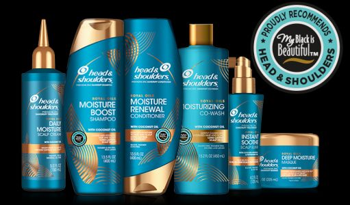 Royal Oils, la collection pour cheveux crépus de Head and Shoulders