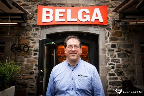 Inauguration officielle du Belga