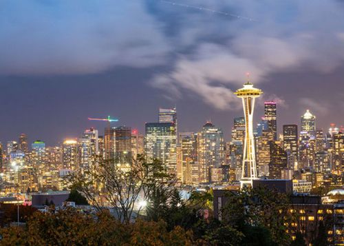 Seattle:  l'esprit Pacific Northwest