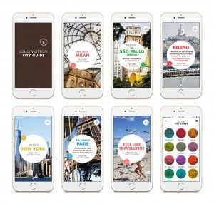 Bon Voyage avec l'application Louis Vuitton City Guide