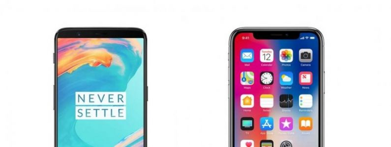 IPhone X vs OnePlus 5T:  Face ID, SpeedTest. Un youtubeur départage les deux smartphones !