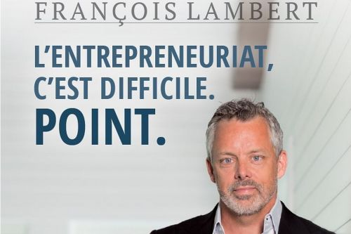 Suggestion de livre:  L'entrepreneuriat, c'est difficile. Point