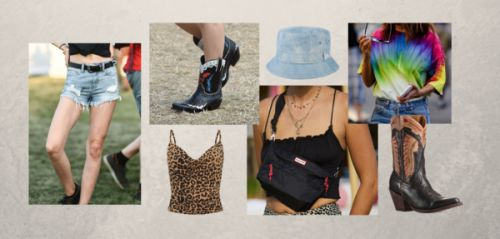 Shopping:  comment adopter le style pluvieux du festival Glastonbury