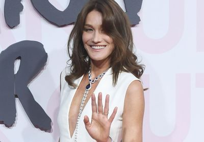 Carla Bruni:  la sublime chevelure blonde de sa fille Giulia, la photo attendrissante