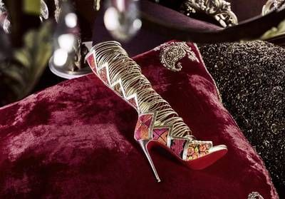 L'instant mode:  La collection bombaysque de Louboutin x Sabysachi