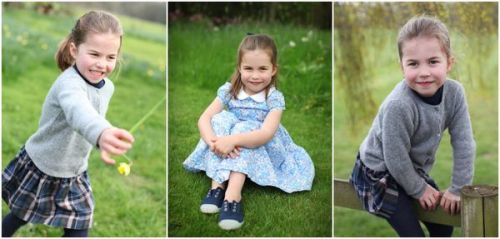 Photos : la princesse Charlotte de Cambridge fête ses 4 ans