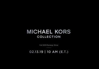 Fashion Week:  suivez le défilé Michael Kors en direct à 16h