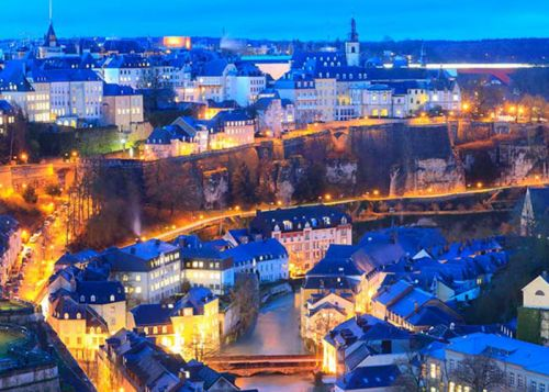 Luxembourg - Carnet d'adresses