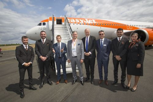 EasyJet accueille son premier Airbus A321neo