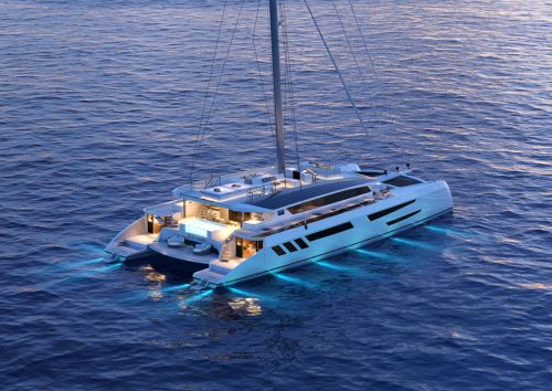 The Eco Yacht:  le catamaran de tous les possibles