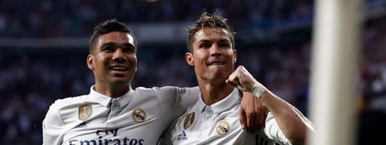 Real Madrid:  Cristiano Ronaldo s'affiche en Air Force 1 et Casemiro en Nike Air VaporMax !