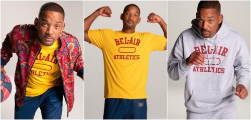 "Will Smith lance une collection de vêtements de sport inspirée du ""Prince de Bel-Air"""