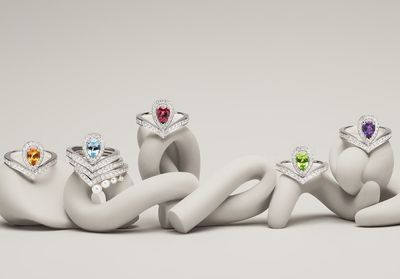 ELLEFashionCrush:  la nouvelle collection haute en couleur de Chaumet