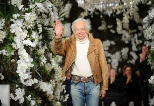 Mode: Ralph Lauren, Chevalier de l'Empire Britannique