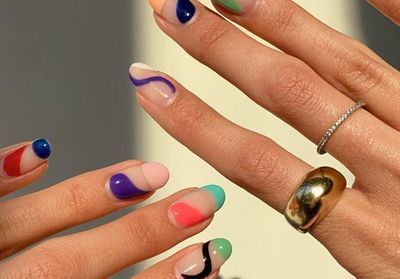 Abstract Nails:  la manucure colorée qui envahit Instagram