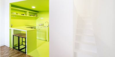 INTERIEUR:  Three colorful studios in Budapest