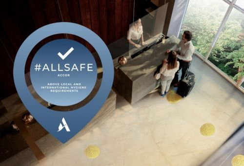 Accor:  le programme ALLSAFE largement déployé à travers le monde