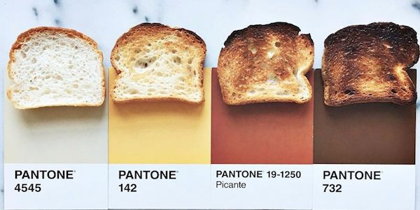 COLORS:  Lucy Litman's Pantone 'Pairing' Food Cards