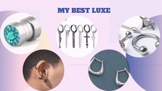 Types of Earrings for Men